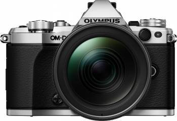 Aparat Foto Mirrorless Olympus E-M5 Mark II silver + EZ-M1240 PRO black