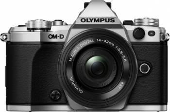 Aparat Foto Mirrorless Olympus E-M5 Mark II silver + EZ-M1442 EZ black