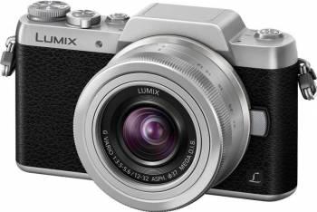 Aparat Foto Mirrorless Panasonic DMC-GF7KEG WiFi Silver Aparate Foto Mirrorless