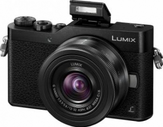 Aparat foto Mirrorless Panasonic Lumix DC-GX800KEGK 3.5-22mm 16MP Black Aparate Foto Mirrorless