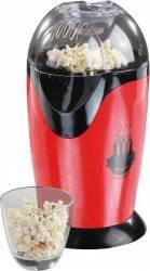 Aparat pentru popcorn Domoclip DOM336, 1200 W, Fara ulei, Rosu Aparate Preparat Desert
