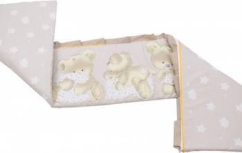 Aparatoare Laterala MyKids Teddy Hug 120x60 Maro Lenjerii si accesorii patut