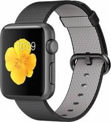 Apple Watch 38mm Carcasa Aluminiu Neagra Curea Sport Neagra MMF62