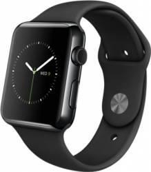 Apple Watch 42mm Carcasa Otel Neagra si Curea Sport Neagra MLC82