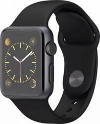 Apple Watch 38mm Carcasa Aluminiu Neagra si Curea Sport Neagra