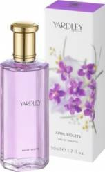 Apa de Toaleta April Violets by Yardley Femei 50ml Parfumuri de dama