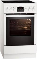 Aragaz AEG 47095VD-WN Electric 4 Zone de gatit Grill Dispozitiv siguranta Alb Aragazuri