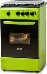 Aragaz LDK 5060 Grai NG Gaz 4 arzatoare Grill Rotisor 50cm Verde