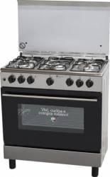 Aragaz Studio Casa B 853 EAN Gaz 5 arzatoare Grill Rotisor 60cm Inox