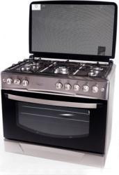 Aragaz Studio Casa FE9060 Gaz 5 arzatoare Grill Rotisor 60cm Inox Aragazuri