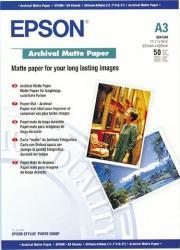 Archival Matte Paper Epson DIN A3 50 Blatt Hartie