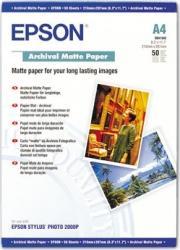 Archival Matte Paper Epson DIN A4 50 Blatt Hartie