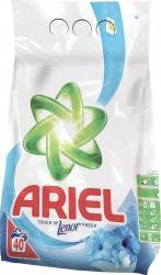 Ariel automat Lenor Touch Oxygen Purity 4kg Detergent si balsam rufe