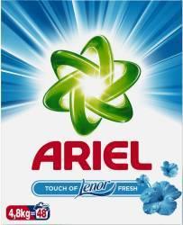 Detergent Automat Ariel Touch of Lenor Fresh 4.8kg Detergent si balsam rufe