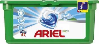 Ariel gel capsule Pods Alpin 42x27.8ml Detergent si balsam rufe