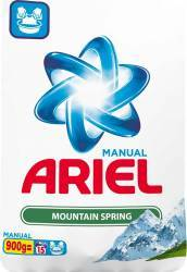 Ariel Manual Mountain Spring 900g Detergent si balsam rufe