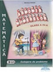 Armonia numerelor clasa a IV-a - Mihaela Singer - Mate - Culegere Carti