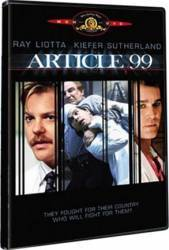 Article 99 DVD 1992 Filme DVD