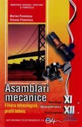 Asamblari Mecanice Cls 11 12 - Marian Pavelescu Simona Pavelescu