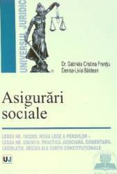 Asigurari sociale - Gabriela Cristina Frentiu Denisa-Livia Baldean