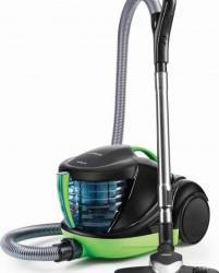 Aspirator cu Filtrare prin Apa Polti Lecologico Forzaspira Allergy Turbo, 1 l, 1700 W, Filtru HEPA, Negru/Verde