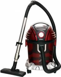Aspirator cu filtrare prin apa Samus Aquafilter Red 234W Tub telescopic Rosu-gri