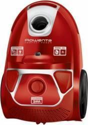 Aspirator cu sac Rowenta Compact Power parquet RO3953EA Tub telescopic din metal Sac Hygiene+ Rosu Aspiratoare