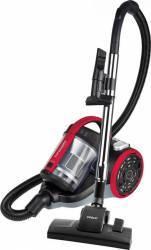 Aspirator fara sac Polti Forzaspira C110 Plus 800W 2L Filtru HEPA Clasa A Negru/Rosu Aspiratoare