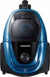 Aspirator fara sac Samsung VC07M3150VU 2L 750 W Tub telescopic Anti-tangle Cyclone Albastru Aspiratoare