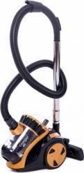 Aspirator fara sac Samus Cyclonique Eco 210W tub telescopic Auriu