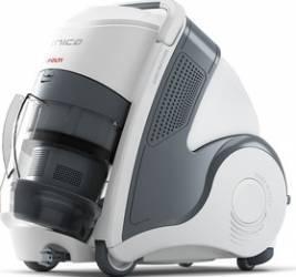 Aspirator Polti Unico MCV 20 Allergy Multifloor, Filtrare Multiciclonica 5 Stadii, Functie Igienizare Abur si Uscare, 2 Aspiratoare