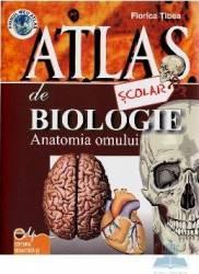 Atlas de biologie scolar - Anatomia Omului - Florica Tibea
