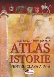 Atlas de istorie - Clasa a 4-a - Doina Burtea Alina Pertea