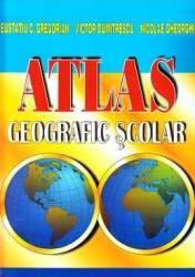 Atlas geografic scolar - Eustatiu C. Gregorian Victor Dumitrescu