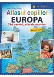 Atlasul copiilor Europa - Andrea Schwendemann