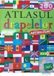 Atlasul drapelelor cu abtibilduri Carti