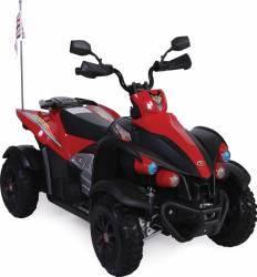 Atv electric 12V Hawk Red Masinute si vehicule pentru copii