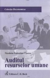 Auditul resurselor umane - Nicoleta-Valentina Florea Carti