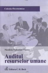 Auditul resurselor umane - Nicoleta-Valentina Florea