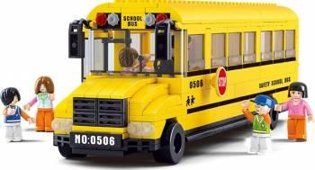 Autobuz mare de scoala Sluban Town M38-B0506 Lego
