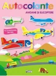 Autocolante Avioane si elicoptere
