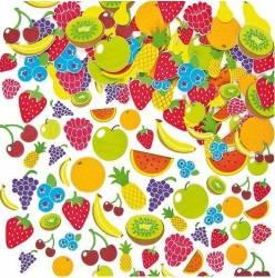 Autocolante din spuma Fructe - Baker Ross Jucarii