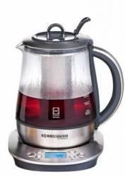 Automat pentru ceai Rommelsbacher 1400W 1.2L Afisaj LCD Negru-argintiu Preparare ceai