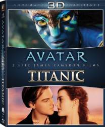 Avatar + Titanic Box Set 3D 6 Discuri Filme BluRay 3D