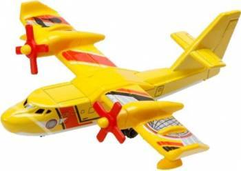 Avion Mattel Matchbox Merseriasii Cerului Avion Galben