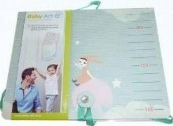 Baby Art - Im not a baby Grila de masura cu Sticker pentru marcaj al cresterii