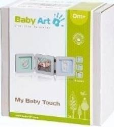 Baby Art - My Baby Touch. Set de amprenta cu rama de poza - Pastel Carti