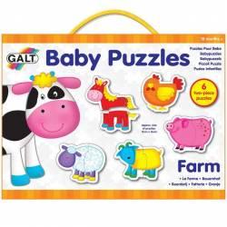 Baby Puzzle Ferma 2 piese Jucarii si Jocuri