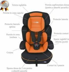 Babygo-Scaun Auto Freemove Orange