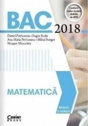 BAC 2018 Matematica - Daniel Petriceanu Eugen Radu